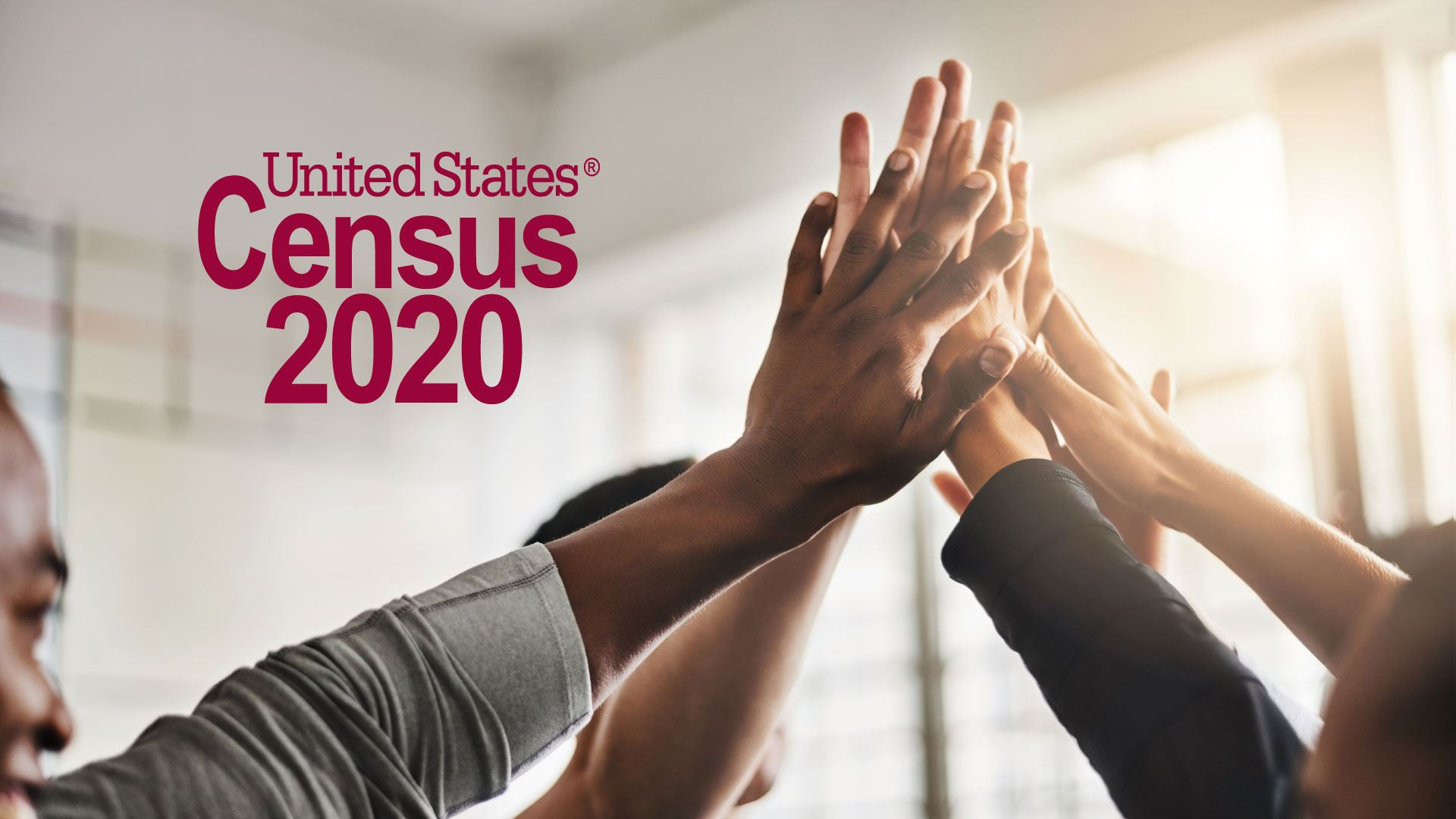 Census image showing hands