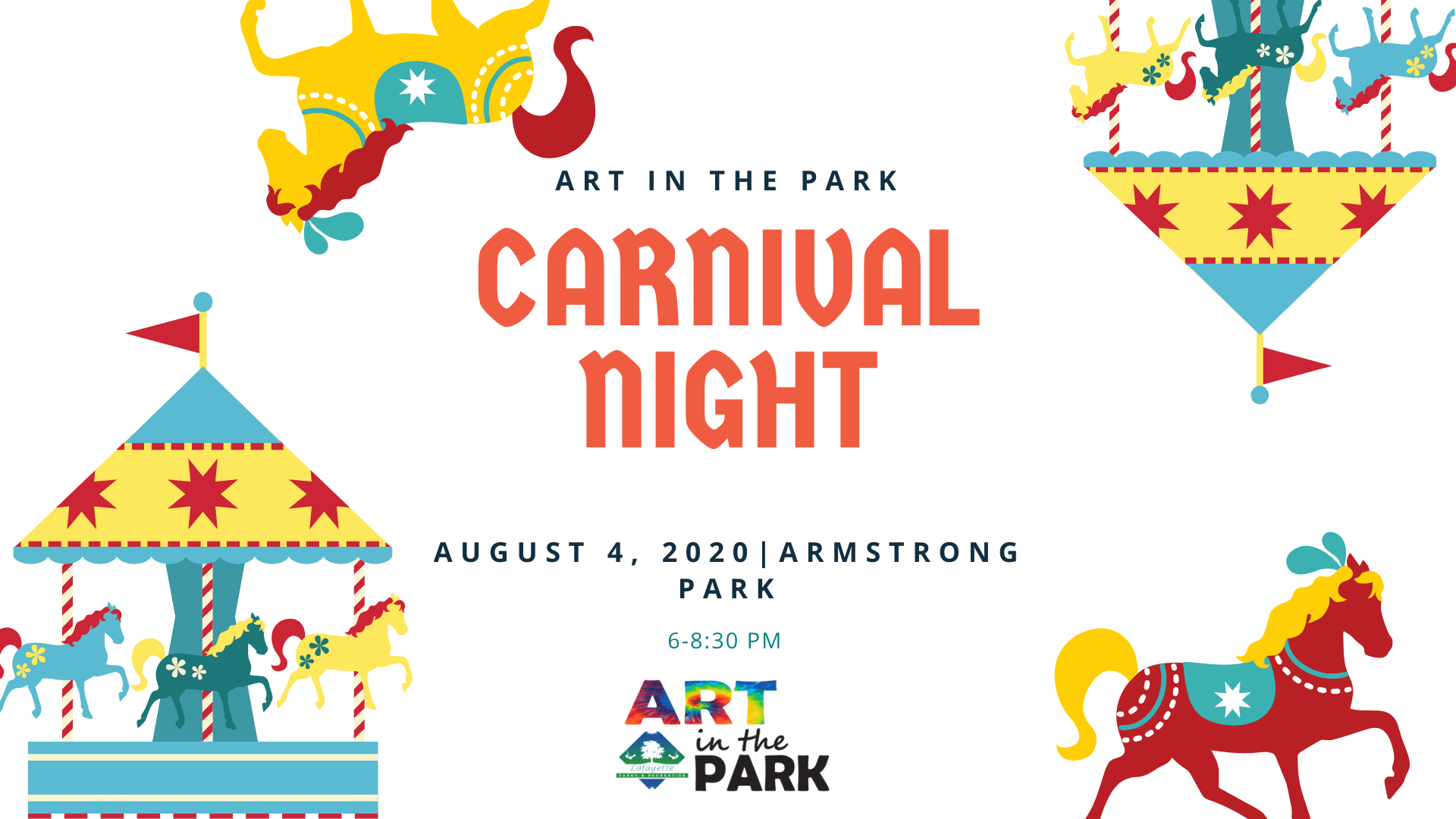 Art in the Park Carnival Night