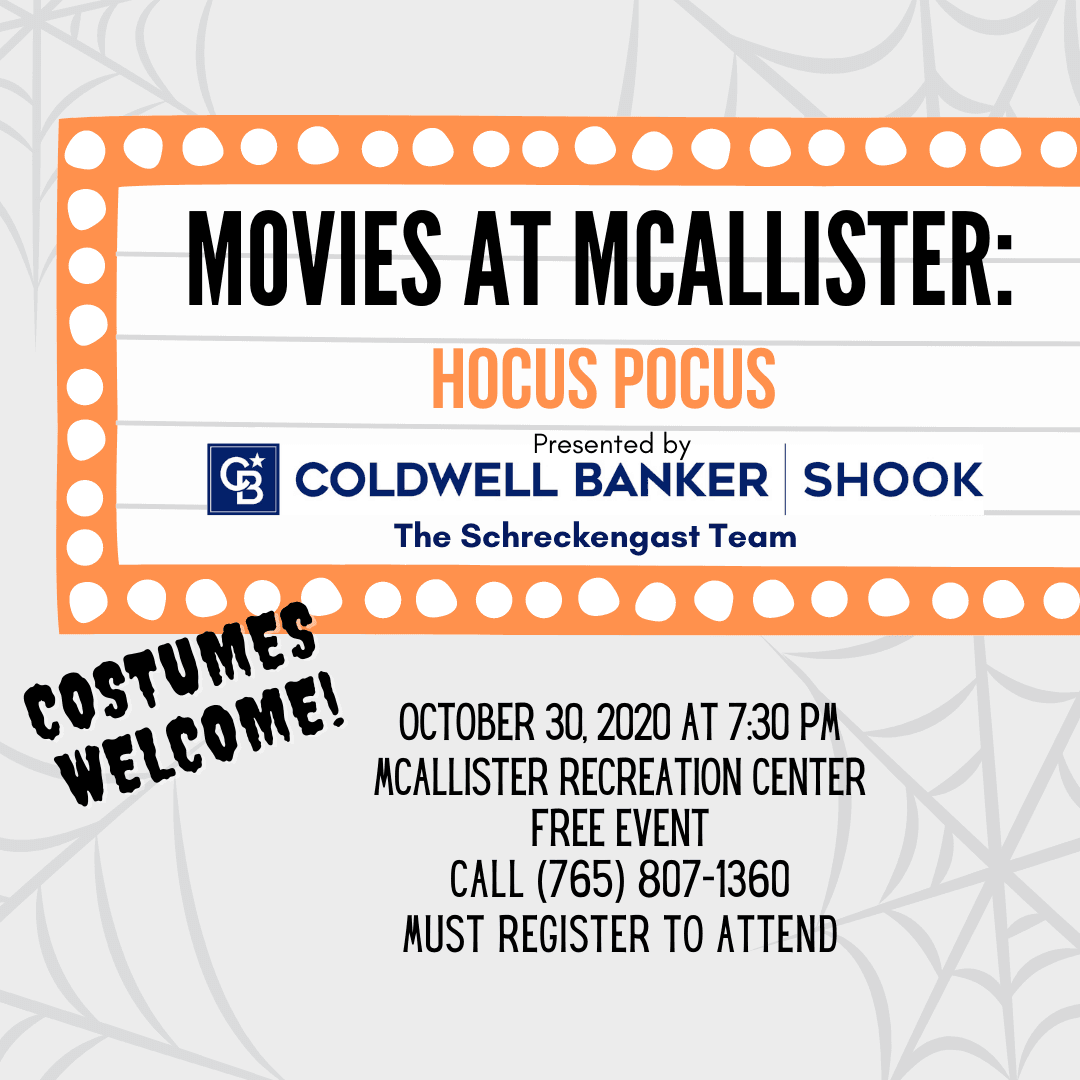 Movies at McAllister IG promo