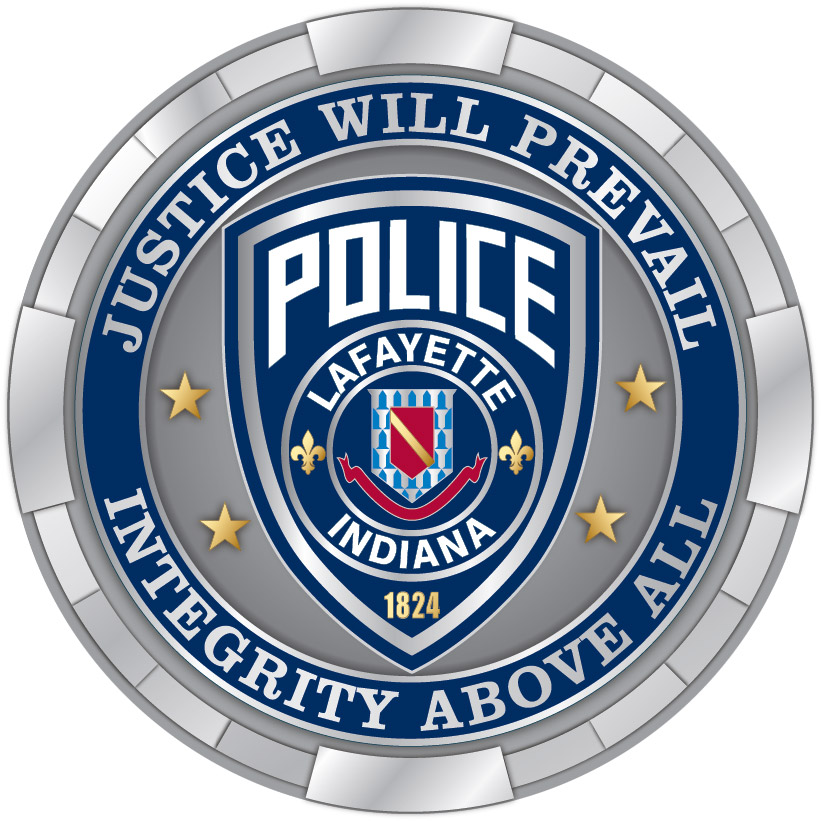 Justice Will Prevail Integrity Above All Police Lafayette Indiana 1824