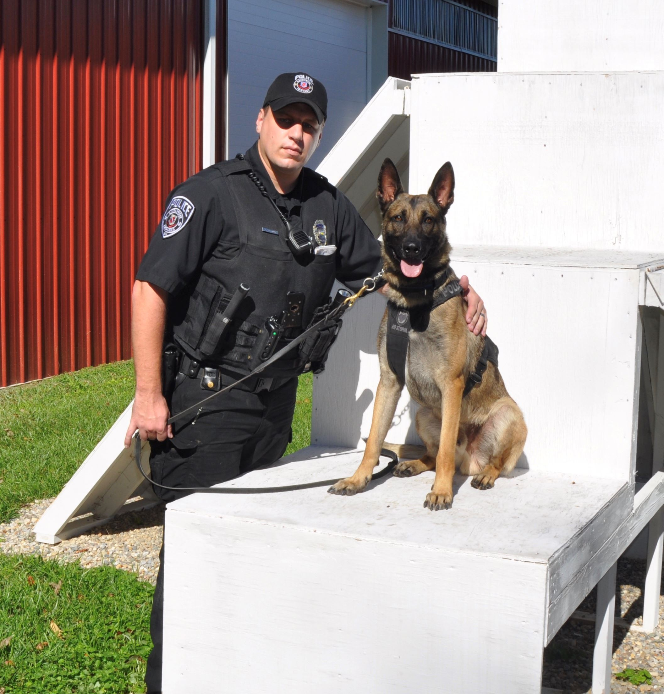 Officer Leroux and K9 Cezar 2017