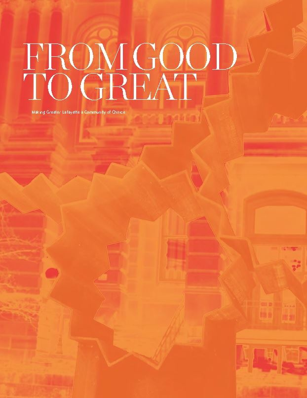 Cover of the From Good to Great report