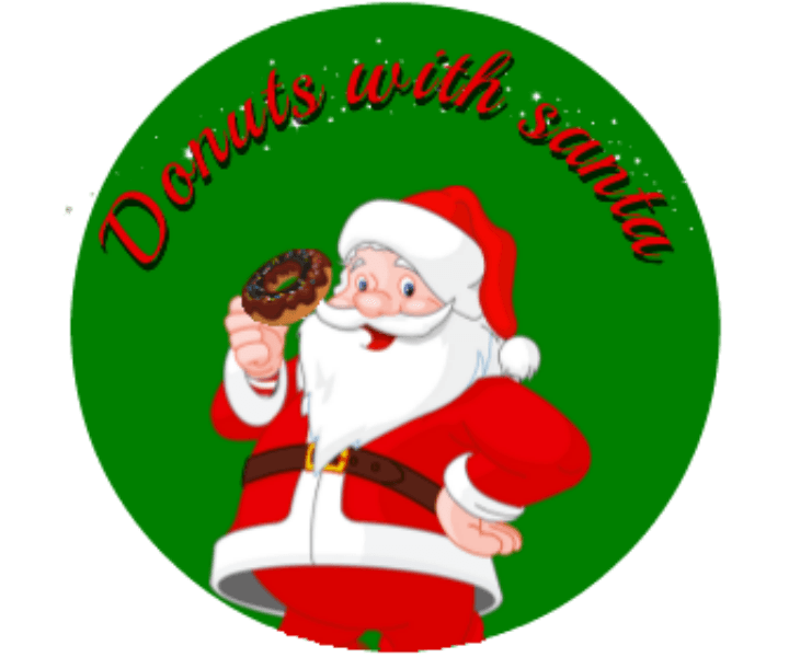 Donuts with santa logo 1