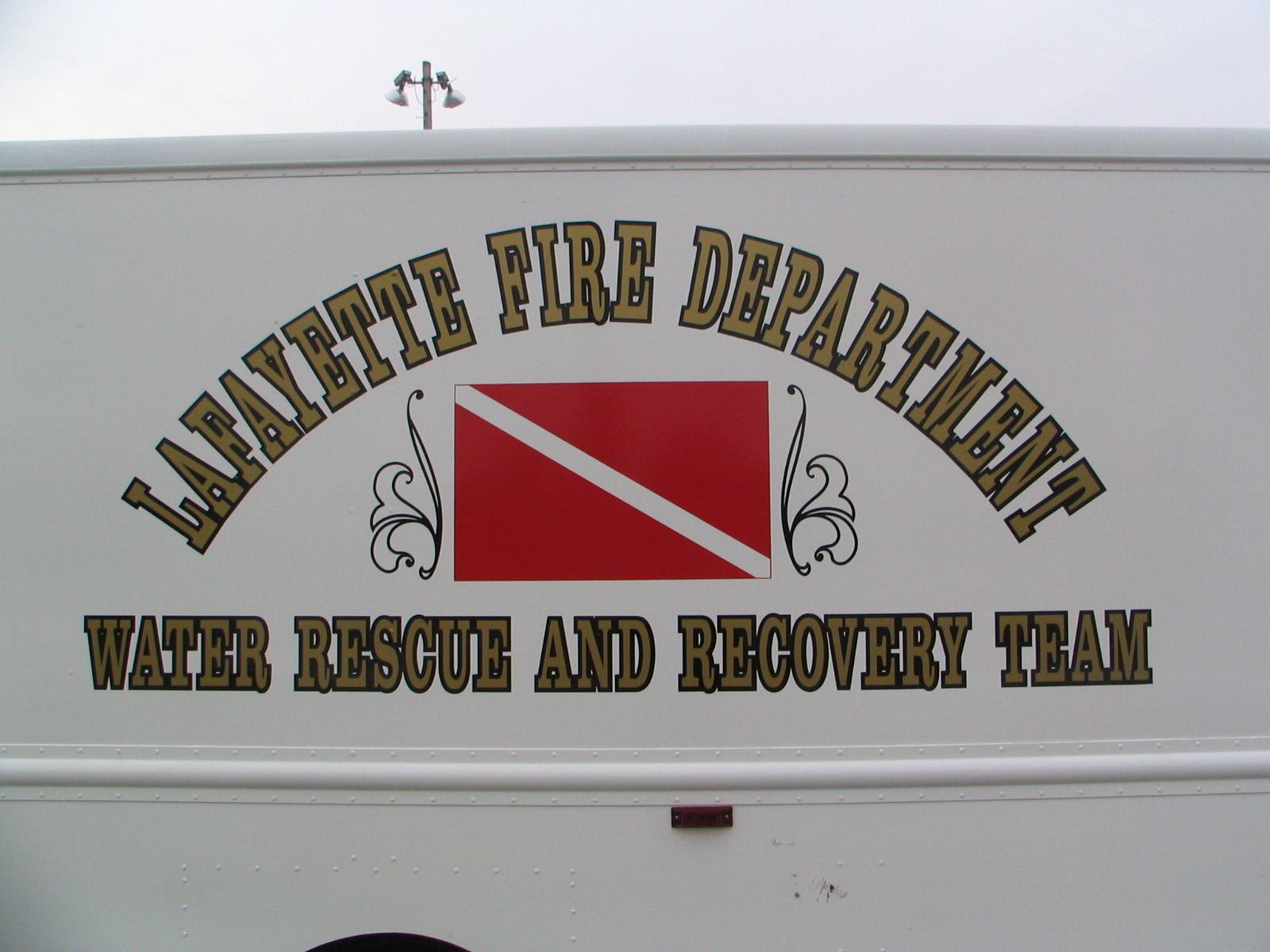 Lafayette Fire Department Water Search and Recovery Team