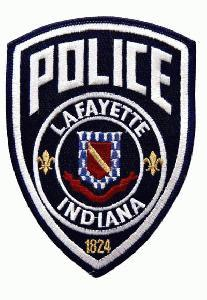 Lafayette Indiana Police Patch - This bold new design, introduced in 2002 is in current use