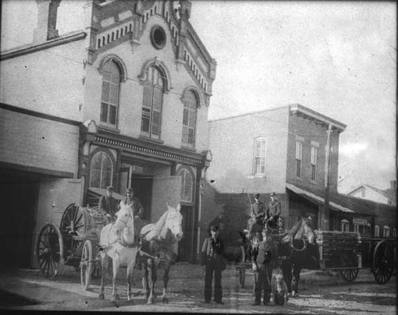 Number 1 Fire Station - North 9th Street (late 1800s)