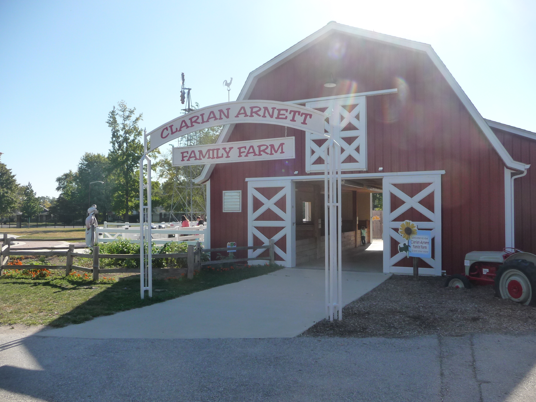 Family Farm exhibit entrance