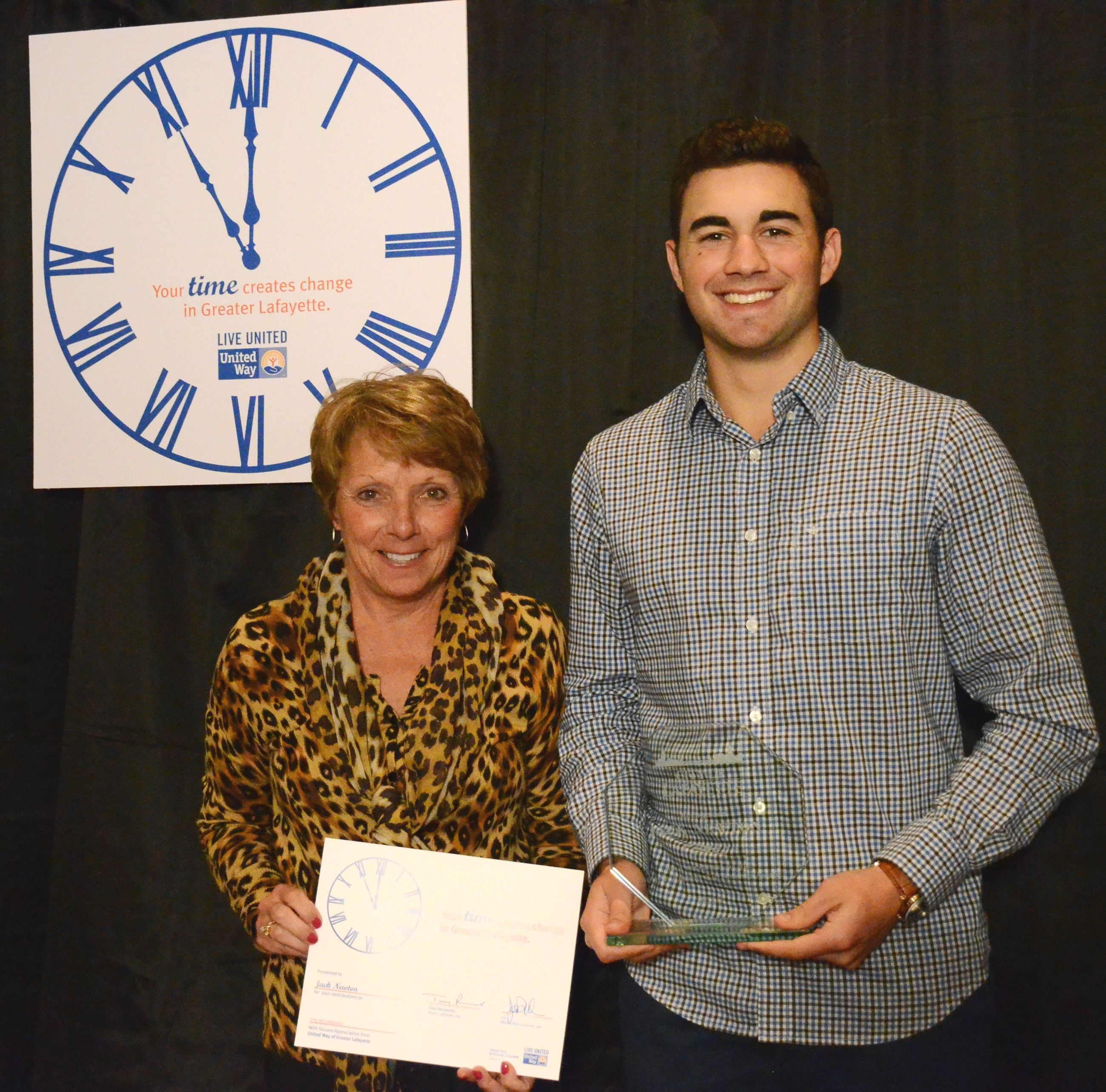 Jack Newton Youth Volunteer Citizenship Award
