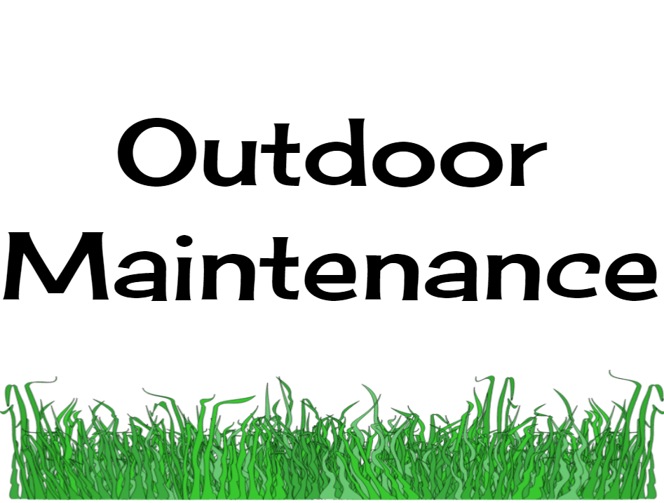 outdoor maintenance