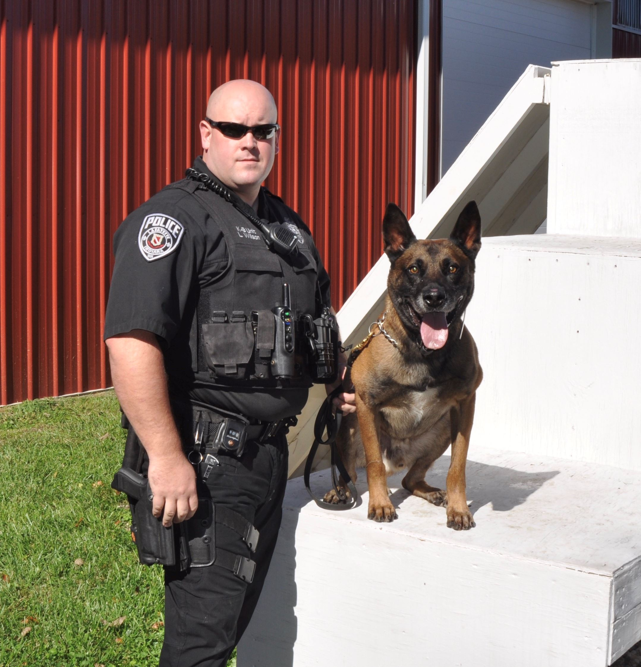 Officer Wilson and K9 Joeri 2017