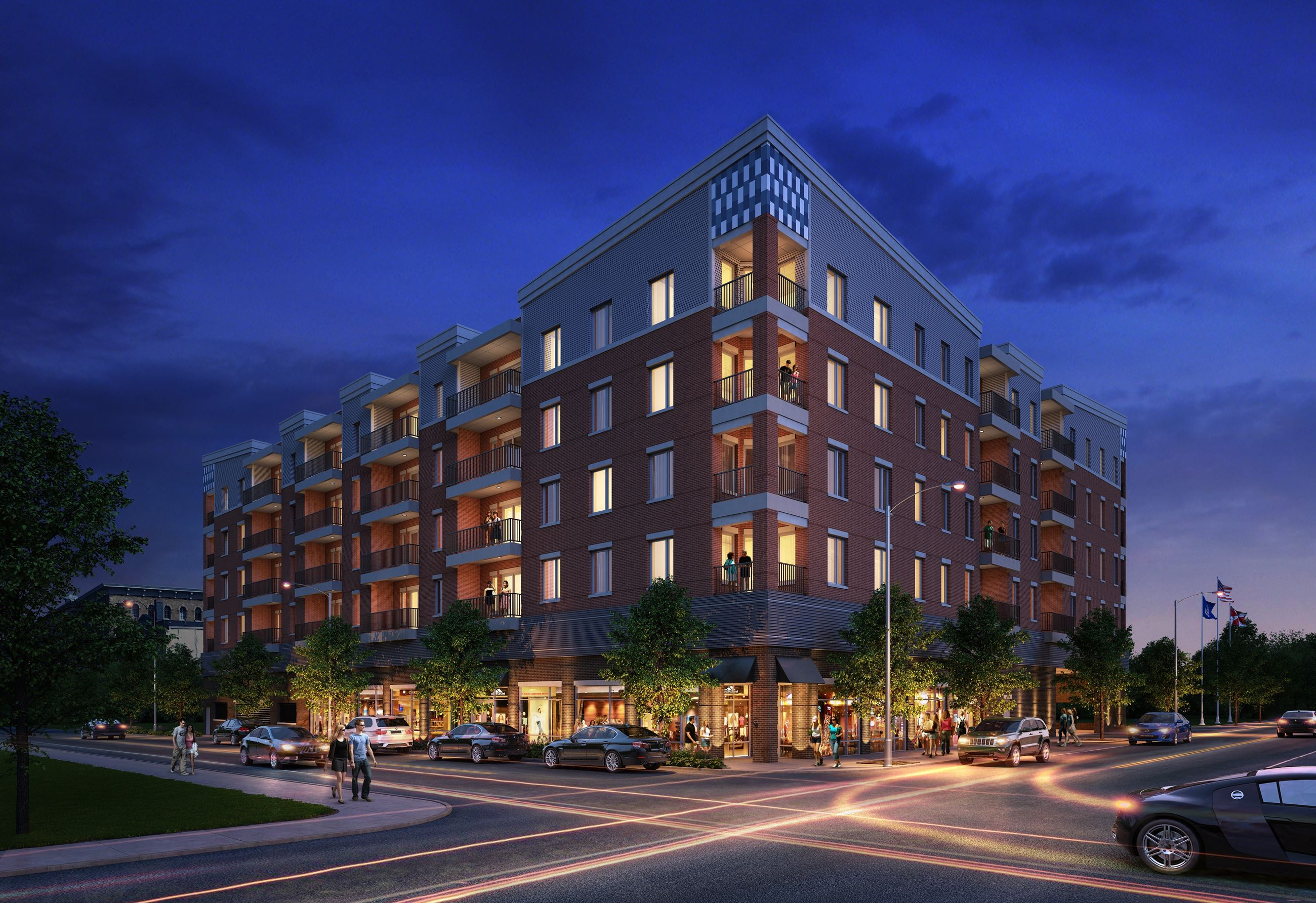 Star City Development -color rendering