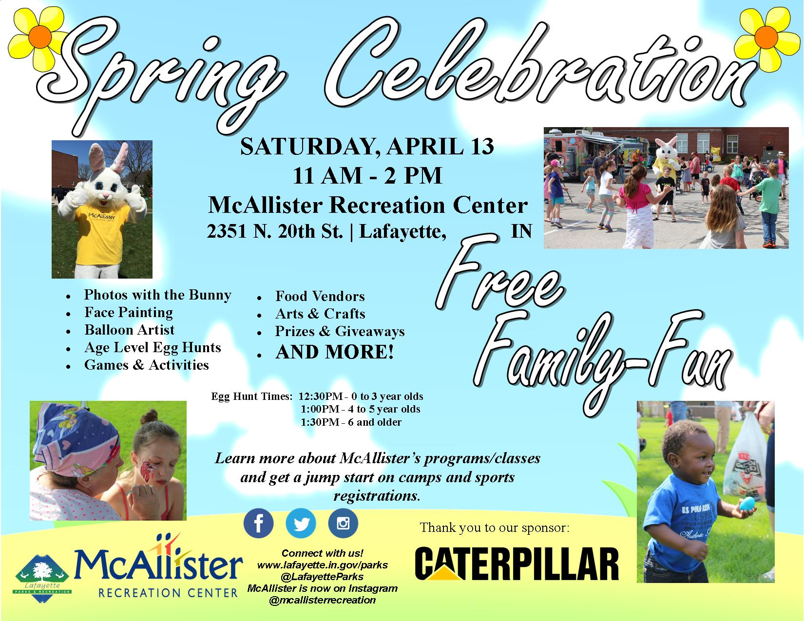 Spring Celebration 2019 Flier - WITH CAT LOGO